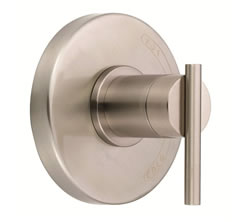 Danze D510458BNT - Parma Single Handle Pressure Balance Mixing Valve Only TRIM Kit Lever Handle - Tumbled Bronzeushed Nickel