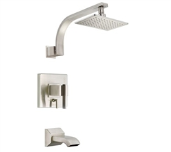 Danze D512044BNT - Sirius Single Handle TRIM Tub & Shower Lever Handle, 2.0gpm showerhead - Tumbled Bronzeushed Nickel