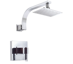 Danze D512544T - Sirius Single Handle TRIM Shower Only Lever Handle, 2.0gpm showerhead - Polished Chrome