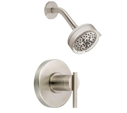 Danze D512558BNT - Parma Single Handle TRIM Shower Only Lever Handle, 2.0 gpm showerhead - Tumbled Bronzeushed Nickel