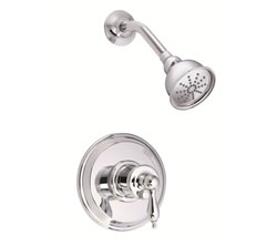 Danze D520510T - Prince Single Handle Trim Shower, Pressure Balance Mixing, w stops - Polished Chrome