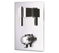 Danze D560144T - Sirius Two Handle TRIM 1/2-inch Thermostatic Valve Lever Handle - Polished Chrome