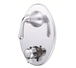 Danze D560156T - Bannockburn Two Handle TRIM 1/2-inch Thermostatic Valve, Lever Handle - Polished Chrome