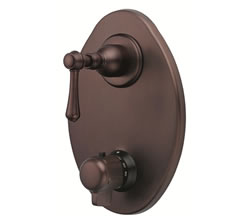 Danze D560157RBT - Opulence Two Handle TRIM 1/2-inch Thermostatic Valve Lever Handle - Oil Rubbed Bronze