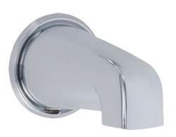Danze D606125 - 5 1/2-inch Wall Mount Tub Spout - Polished Chrome