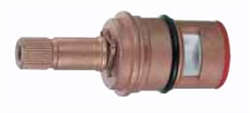 Danze DA507071W - Brass Ceramic Disc Cartridge - Cold Side, Round Spline