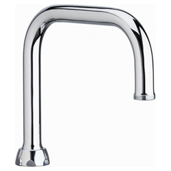 Chicago Faucets - DB6AJKABCP - Double Bend Spout A Type End