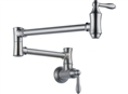 Delta 1177LF-AR - Traditional Wall Mounted Pot Filler Faucet, Arctic Stainless