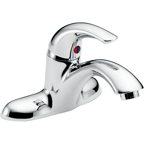 Delta commercial 22c101 22t single handle centerset - Delta bathroom sink faucet installation ...