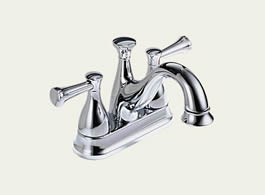 Delta Lockwood: Two Handle Centerset Lavatory Faucet - 2540-240