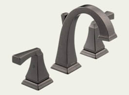 Delta Dryden: Two Handle Widespread Lavatory Faucet - 3551LF-PT