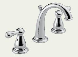 Delta Leland: Two Handle Widespread Lavatory Faucet - 3575LF