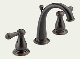 Delta Leland: Two Handle Widespread Lavatory Faucet - 3575LF-RB