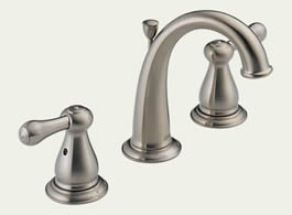 Delta Leland: Two Handle Widespread Lavatory Faucet - 3575LF-SS