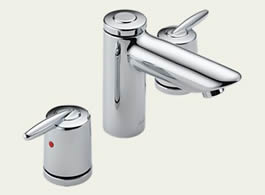 Delta Grail: Two Handle Widespread Lavatory Faucet - 3585LF-MPU