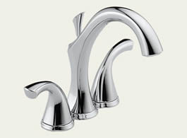 Delta Addison: Two Handle Mini-Widespread Lavatory Faucet - 4592