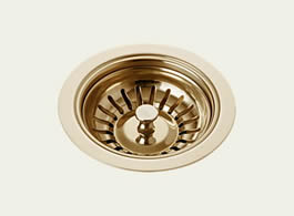 Delta: Kitchen Sink Flange & Strainer - 72010-PB