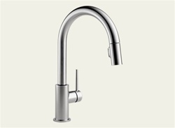 Delta 9159-AR-DST - Trinsic Pull Down Kitchen Faucet