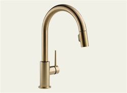 Delta 9159-CZ-DST - Trinsic Pull Down Kitchen Faucet