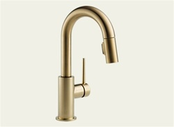 Delta 9959-CZ-DST - Trinsic Pull Down Bar Faucet