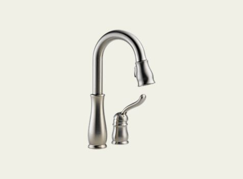 Delta Leland Single Handle Bar Prep Faucet 9978 Ss Dst