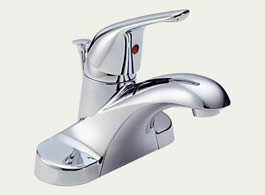 Delta Foundations Core-B: Single Handle Centerset Lavatory Faucet - B510LF
