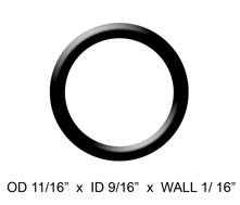Delta: O-Rings - 13/14 Series - Qty. 2 - RP14414