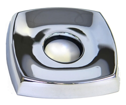 "Delta RP6150  Escutcheon - 4"" - Square, Chrome"