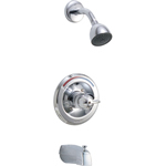 Delta Commercial T13490 - Classic: Monitor 13 Series Tub And Shower Trim, Chrome