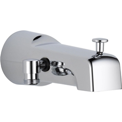 Delta U1010-PK  Diverter Tub Spout - Handshower, Chrome