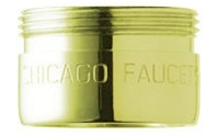 Chicago Faucet - E12JKCPB - Aerator (Polished Brass)