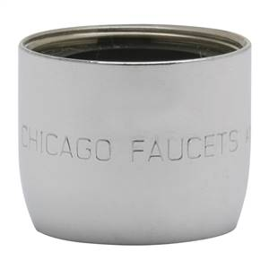 Chicago Faucets E26-5JKABCP - 1.0 GPM (3.8 L/min) Non-Aerating Spray Pressure Compensating Econo-Flo with Adapter