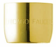 Chicago Faucet - E3JKCPB - Softflo® Aerator (Polished Brass)