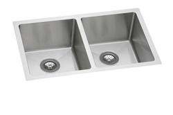Elkay - EFRU3118 - Avado Double Bowl Undermount Sink, 2 Bowls, Stainless Steel - 16 Gauge - 8-inch Depth