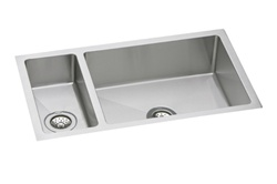 Elkay - EFRU3219 - Avado Double Bowl Undermount Sink, 2 Bowls, Stainless Steel - 16 Gauge - 8-inch Depth