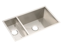 Elkay - EFU321910 - Avado Double Bowl Undermount Sink, 2 Bowls, Stainless Steel - 16 Gauge - 10-inch Depth
