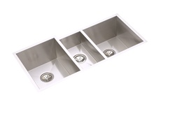 Elkay - EFU402010 - Avado Triple Bowl Undermount Sink, 3 Bowls, Stainless Steel - 16 Gauge - 10-inch Depth