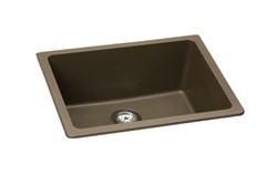 Elkay - ELGU2522MC0 - E-Granite Undermounted Mounted Sink, Mocha