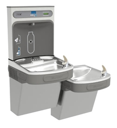 Elkay EZSTL8WSSK -  EZH2O® Bottle Filling Station with Bi-Level ADA Cooler