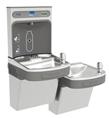 Elkay EZSTL8WSVRL3K - EZH2O® Bottle Filling Station with Bi-Level ADA Cooler