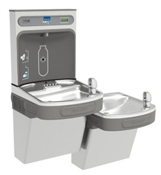 Elkay EZSTLDDWSVRSK - EZH2O® Bottle Filling Station with Bi-Level ADA Cooler