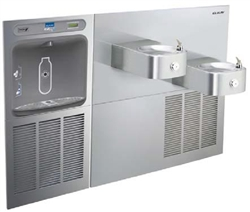 Elkay EZWS-SS28K - EZH2O® Bottle Filling Station with SoftSides® Bi-Level Refrigerated Fountain