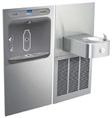 Elkay EZWS-SS8K - EZH2O® Bottle Filling Station with SoftSides® Single Refrigerated Fountain