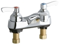 Elkay LK402L2 - 4-inch Center Deck Mount Lavatory Faucet with Lever Handles
