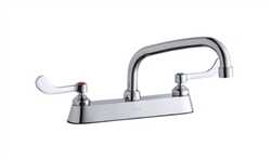 Elkay LK810AT08T4 - 8-inch Center Deck Mounted, Concealed Widespread Faucet