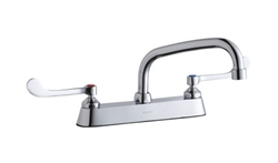 Elkay LK810AT08T6 - 8-inch Center Deck Mounted, Concealed Widespread Faucet