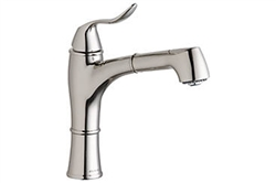 Elkay LKEC1041NK - Explore Pull-Out Kitchen Faucet, Brushed Nickel