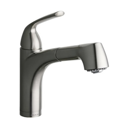 Elkay LKGT1042CR - Gourmet Single Handle Pull Out Spray Faucet, Polished Chrome