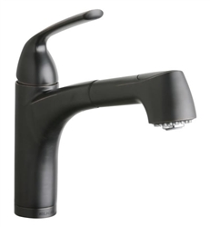 Elkay LKGT1042RB - Gourmet Single Handle Pull Out Spray Faucet, Oil Rubbed Bronze