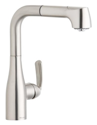 Elkay LKGT2042NK - Gourmet Pull-Out Spray Faucet, Brushed Nickel